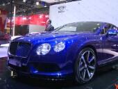 2014成都车展 宾利全新欧陆GT V8 S欣赏