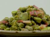 咸肉雪菜炒蚕豆